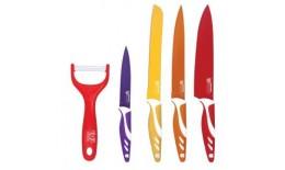 5 ks sada nožov s nepriľnavým povrchom