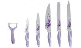 6 ks sada nožov a škrabky