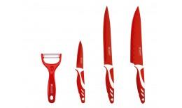 4ks Sada nožov a škrabky
