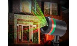 Laserová dekoračná lampa - projektor nočnej oblohy Star Shower
