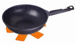 Granitový wok 28x8cm s 3-vrstvovým mramorovým povrchom GRANIT DIAMOND LINE