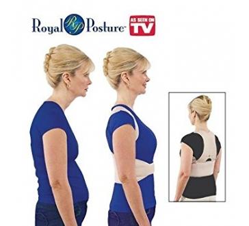 Podporná rovnacia bandáž pre správne držanie chrbta ROYAL POSTURE
