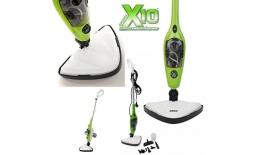 Parný Mop X 10 šikovný a efektívny parný čistič