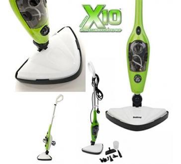Parný Mop X10 10v1 - šikovný a efektívny parný čistič
