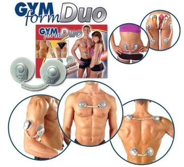 Dvojbalenie - Elektronický posilňovač svalov GYM FORM DUO