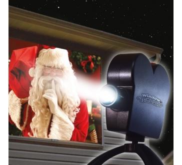 Laserový premietač na okno Star Shower