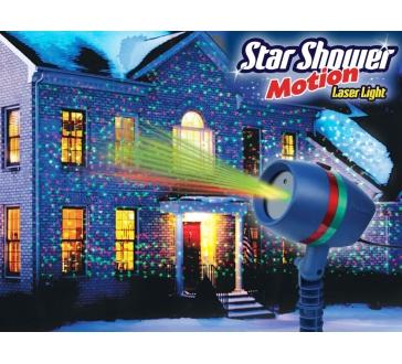 Laserová dekoračná lampa - projektor nočnej oblohy