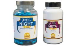 Výživový doplnok na chudnutie META BOOSTER + NIGHT BURNER