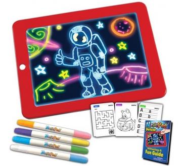 Magická svietiaca tabuľa na kreslenie Magic Pad