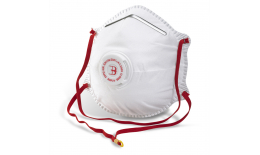 Ochranný respirátor na tvár s ventilom, FFP2