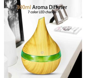 Aromatický Difúzer Zvlhčovač a Ionizátor vzduchu USB