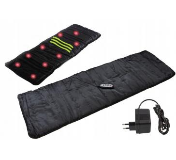 Vyhrievaný INFRA masážny matrac s 9 vibračnými bodmi