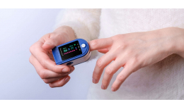Pulzový Oximeter - Pulzometer s LCD displejom