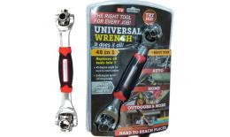 Nástrčný kľúč s otočnou hlavou - Universal Wrench 48v1